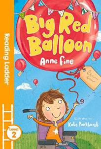 The cover of 'Big Red Balloon'