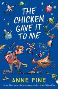 The cover of 'The chicken gave it to me'
