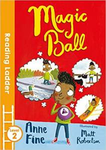 The cover of 'Magic Ball'